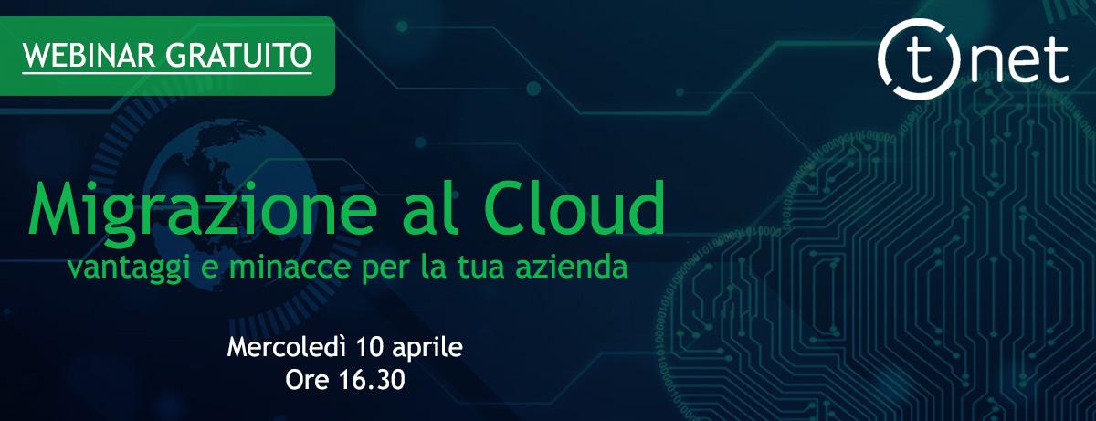 webinar migrazione al cloud